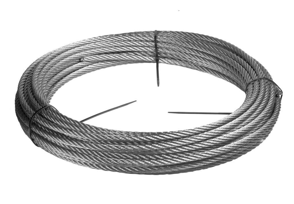 Stainless Steel Wire Rope - 316 - 0.0787 inch/2 mm - 122 feet/40 ...